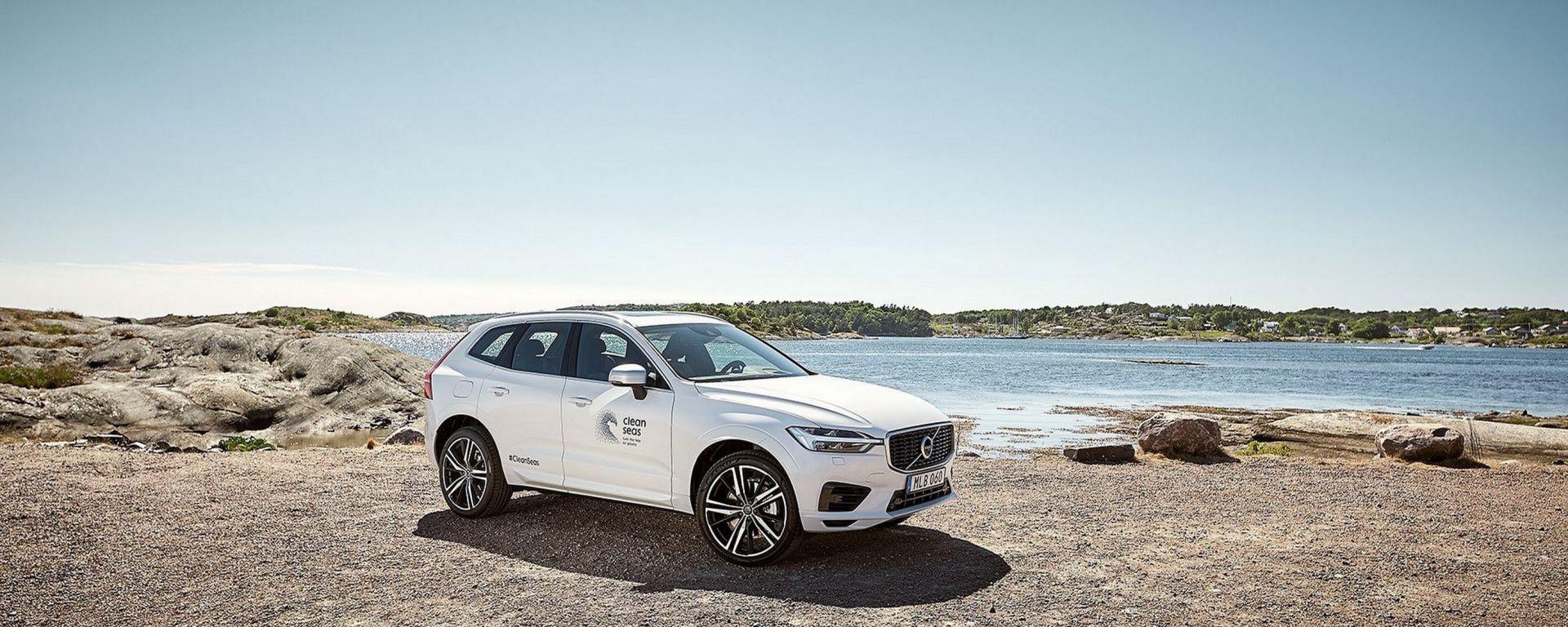 Volvo: dal 2025 il 25% delle plastiche saranno riciclate