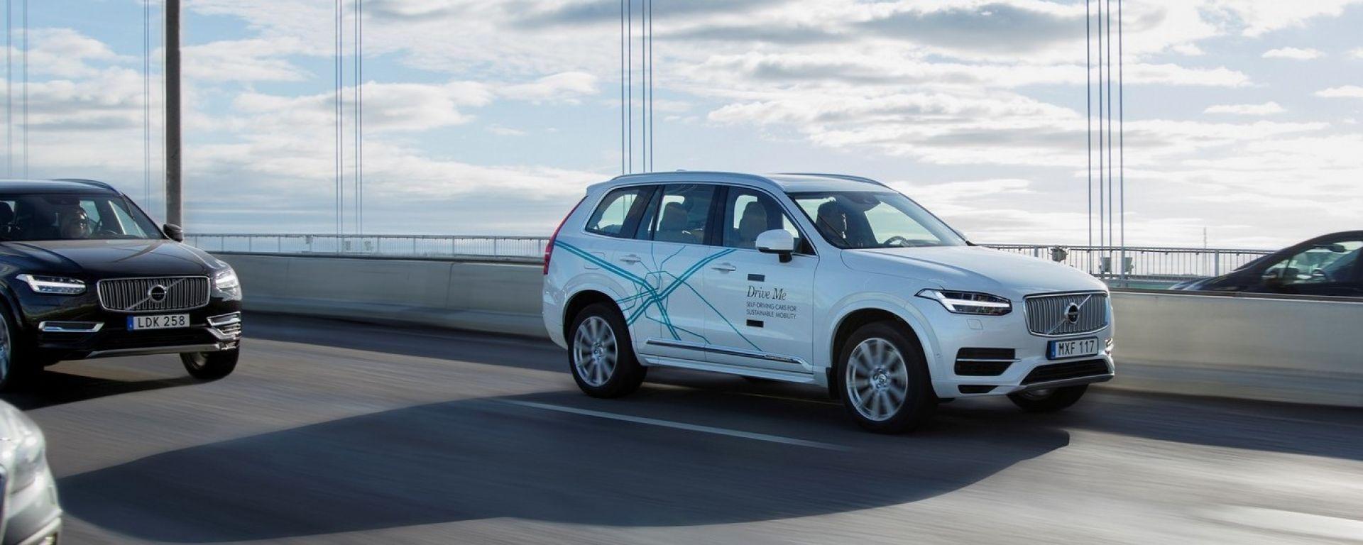 Volvo e NVIDIA assieme per la guida autonoma