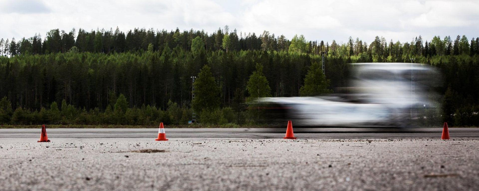 Volvo Iron Knight ha stabilito due record in un colpo solo, sul chilometro e mezzo chilometro lanciato