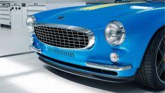 Volvo P1800 Cyan, dettaglio del frontale