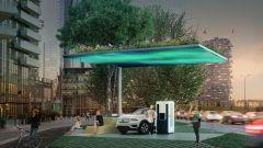 Volvo Recharge: la stazione di Porta Nuova a Milano