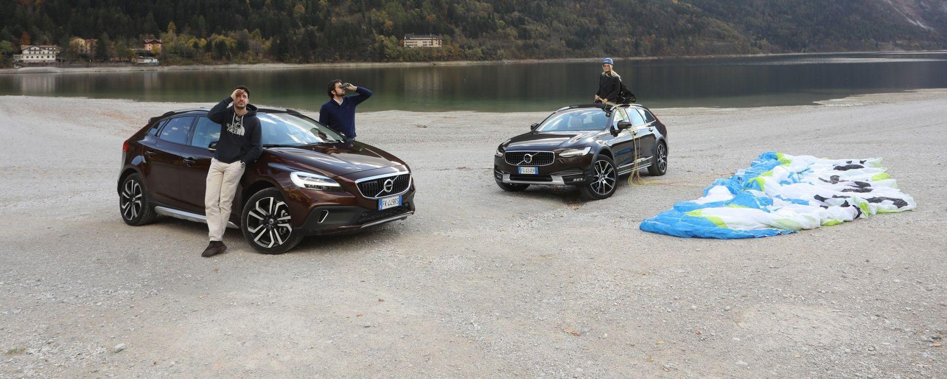 Volvo Cross Country V40 e V90: alla ricerca di Giulia