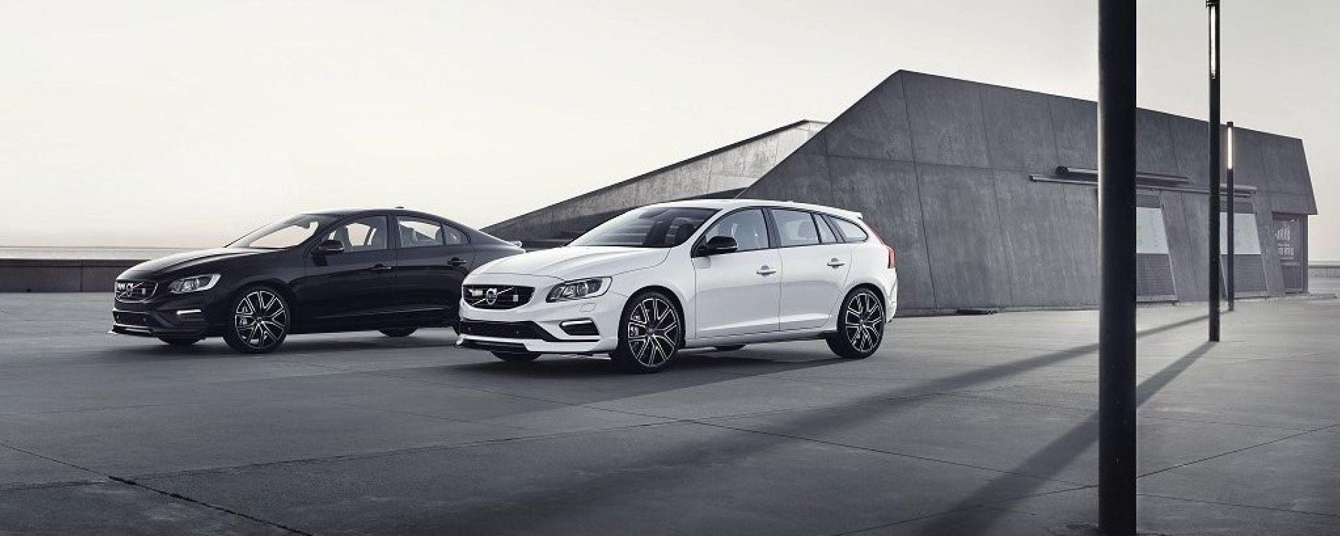 Volvo S60 e V60 Polestar: ecco i model year 2017