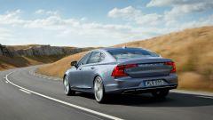 Volvo S90: a led sono anche i gruppi ottici posteriori