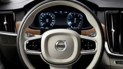Volvo S90: la strumentazione è completamente digitale