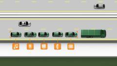 Volvo SARTRE: io guido da sola - Immagine: 4