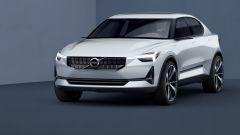 Volvo V40 concept: il frontale