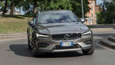 Volvo V60 Cross Country B4 AWD Business Pro Line, un momento del test drive