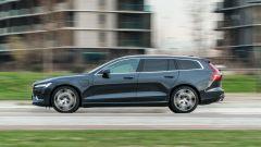 Volvo V60 plug-in hybrid: la prova su strada