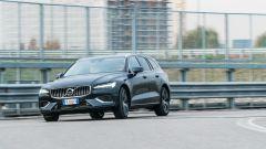 Volvo V60 plug-in hybrid: un momento del test drive