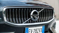 Volvo V60 T8 Twin Engine AWD Geartronic 2019, la calandra