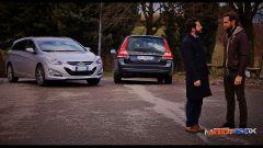 Volvo V70 Super Polar vs Hyundai i40 Style - Immagine: 1