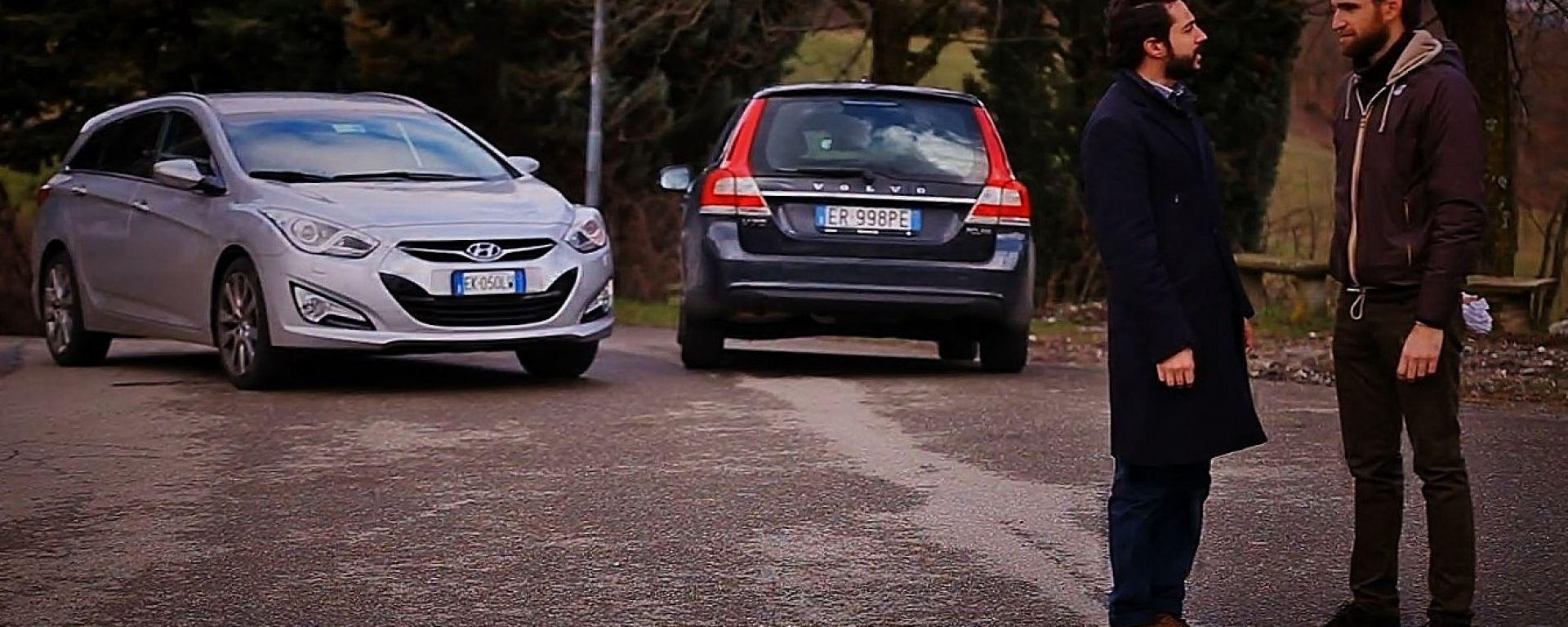 Volvo V70 Super Polar vs Hyundai i40 Style