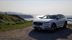 Volvo V90 Cross Country D5 Ocean Race: un momento del test