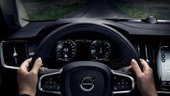 Volvo V90 Cross Country: i cambiamenti nell'abitacolo sono praticamente impercettibili