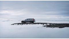 Volvo V90 Cross Country: i test si sono svolti anche a temperature di 40° sotto zero
