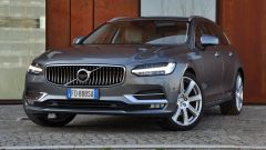 Volvo V90 D4 Geartronic Inscription: il frontale è immediatamente riconoscibile
