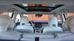 Volvo V90 D4 Geartronic Inscription: l'abitacolo è ben rifinito e con interni in pelle