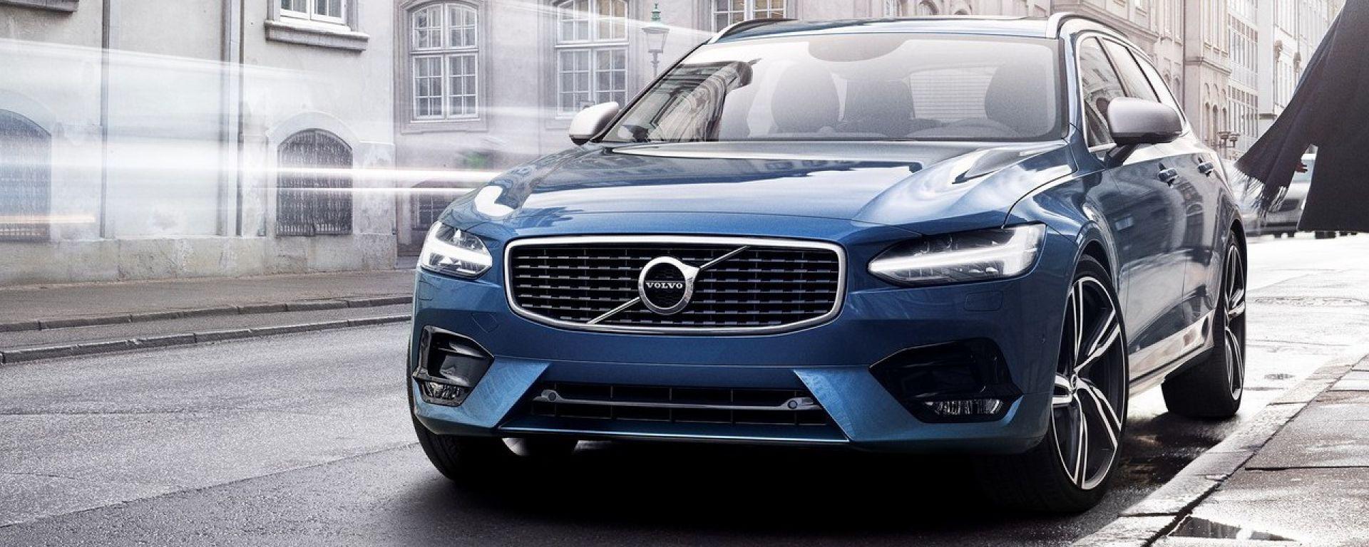 Volvo V90 e S90 R-Design: tocco sportivo anche per le ammiraglie Volvo