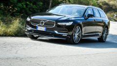Volvo V90: il frontale