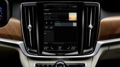 Volvo V90: il monitor touch da 9 pollici del sistema di infotainment