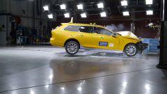 Volvo V90: nei test EuroNCAP ha ottenuto 5 stelle