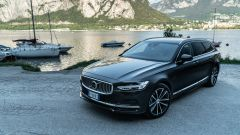 Volvo V90 T6 Recharge Plug-in Hybrid AWD Inscription, vista dall'alto