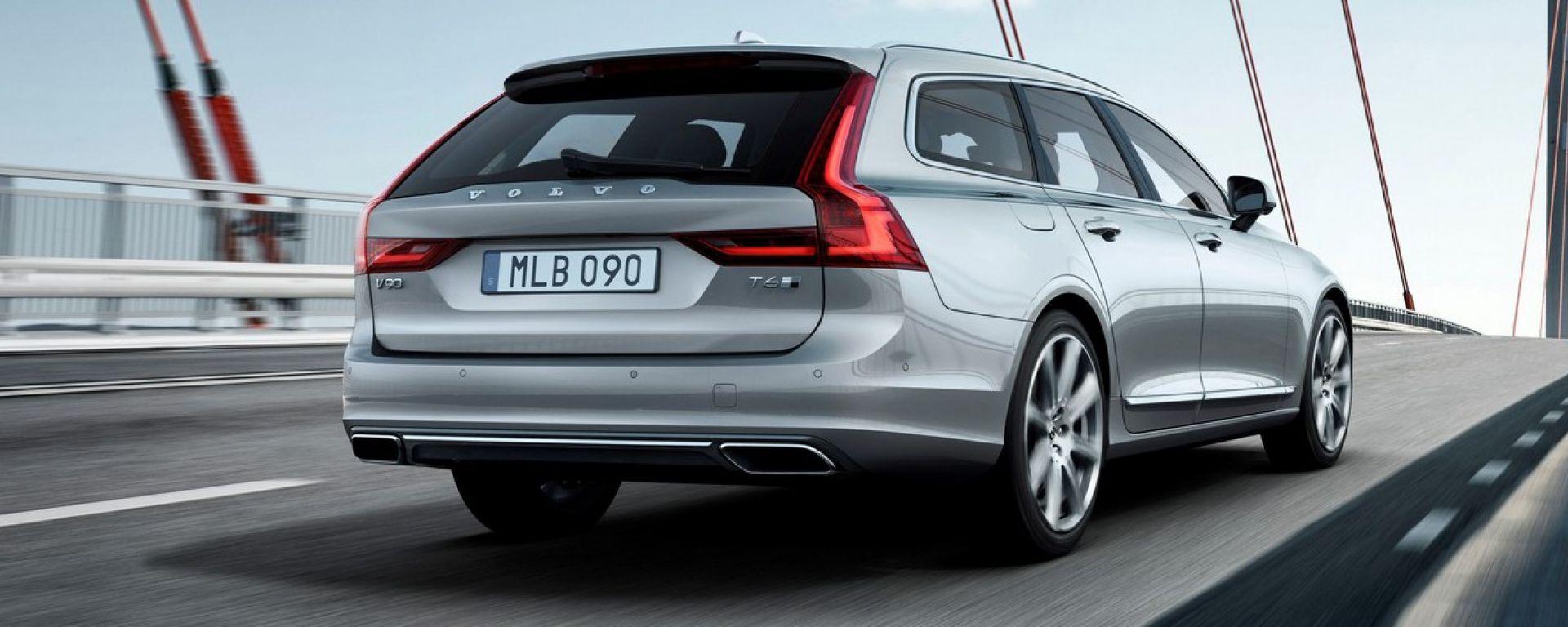 Volvo V90: nuove info e foto