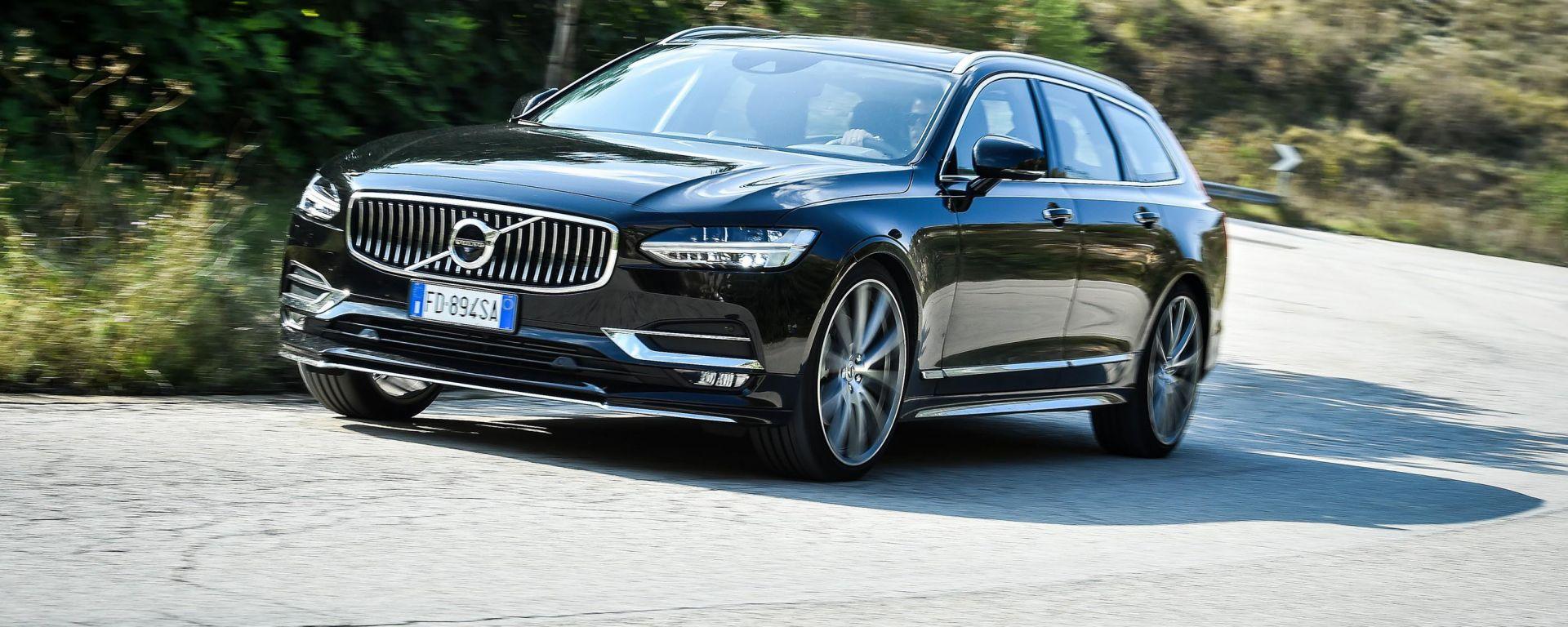 Volvo V90: prova, dotazioni, prezzi. Guarda il video