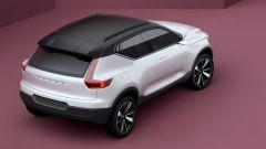Volvo XC40 concept: il posteriore