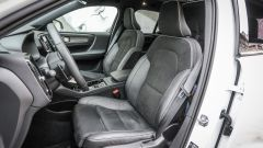 Volvo XC40: i sedili anteriori