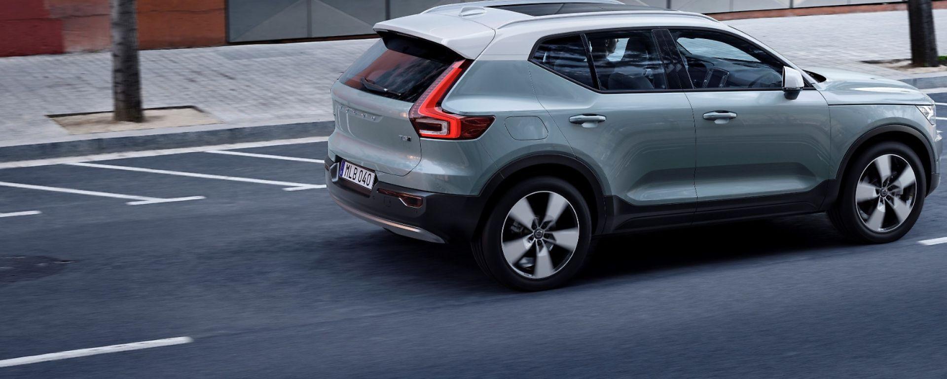 Volvo XC40, in arrivo la versione elettrica