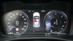 Volvo XC40: la strumentazione digitale
