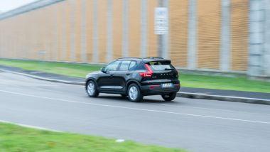 Volvo XC40 T3: buone prestazioni, ma consumi un po' elevati