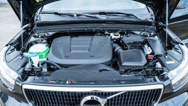 Volvo XC40 T3: il motore tre cilindri turbo benzina da 163 CV