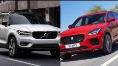 Volvo XC40 vs Jaguar E-Pace: quale scegliere?