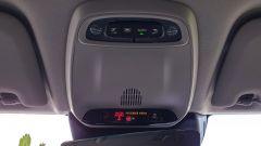 Volvo XC60 AWD Momentum Pro, dettaglio dei comandi sulla plafoniera