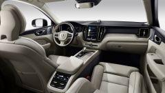 Volvo XC60, gli interni