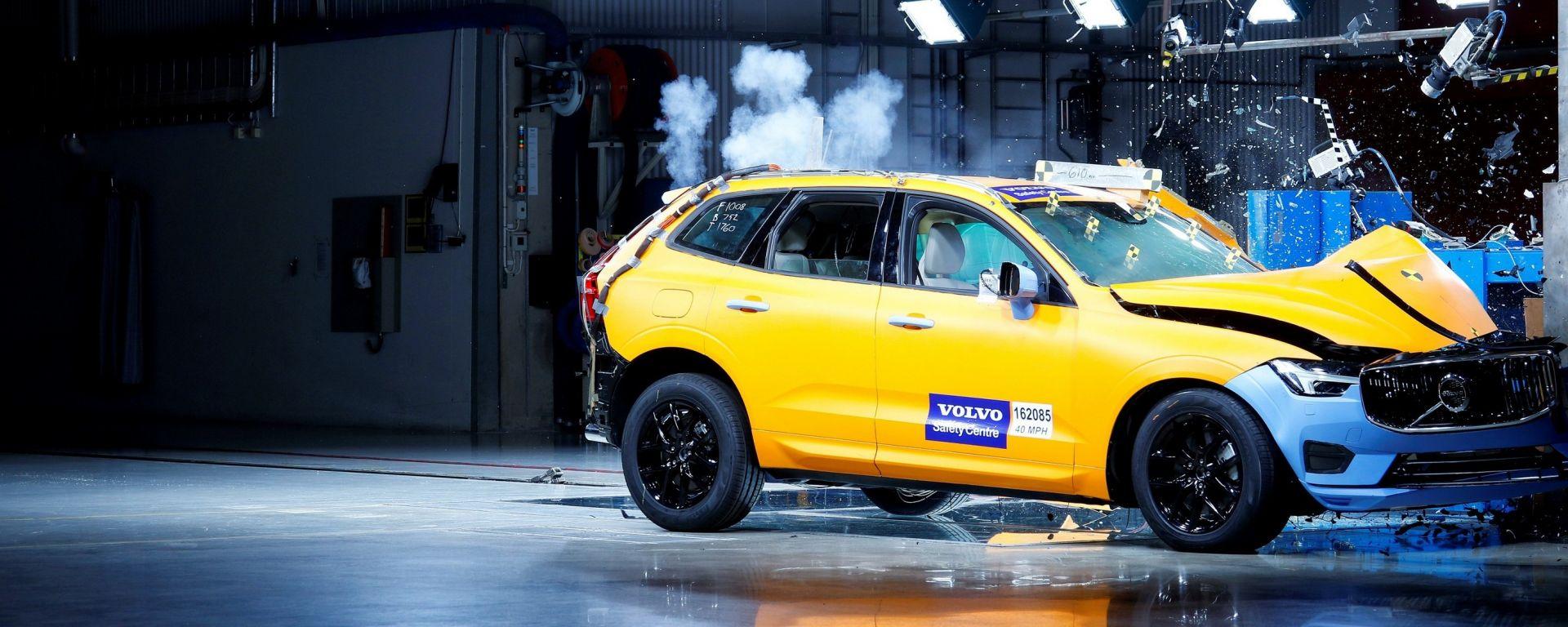 Volvo XC60: secondo i test Euro Ncap è l'auto più sicura del 2017