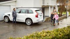 Volvo XC90 a guida autonoma consegnate alla famiglia Simonovski