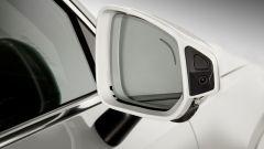 Volvo XC90 a guida autonoma: i sensori negli specchietti
