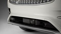 Volvo XC90 a guida autonoma: i sensori nel frontale