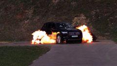 Volvo XC90 blindata, a prova di bomba