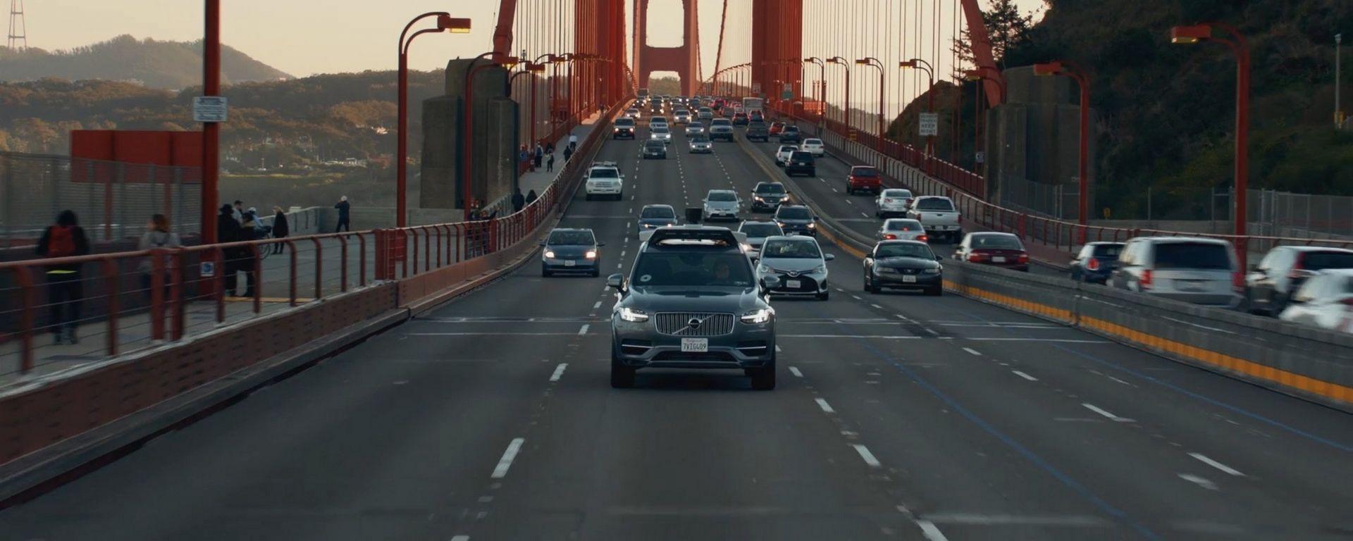 Volvo XC90: ha preso il via a San Francisco la sperimentazione della guida autonoma con Uber