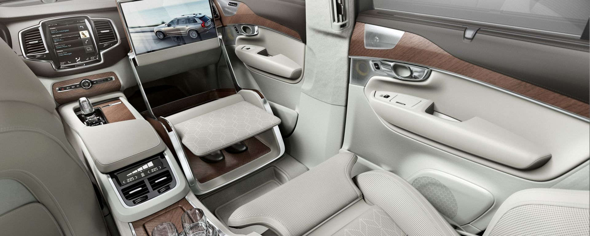 Volvo XC90 Lounge Console