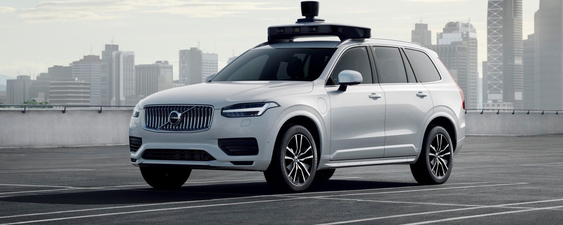 Volvo XC90 taxi per Uber