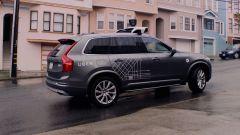 Volvo XC90:sul tetto dei modelli a guida autonoma è sistemato anche il Lidar