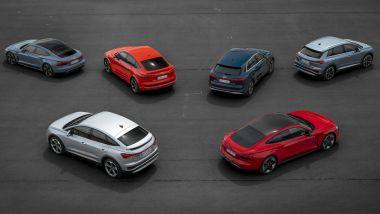 Vorsprung 2030: la gamma di auto elettriche Audi