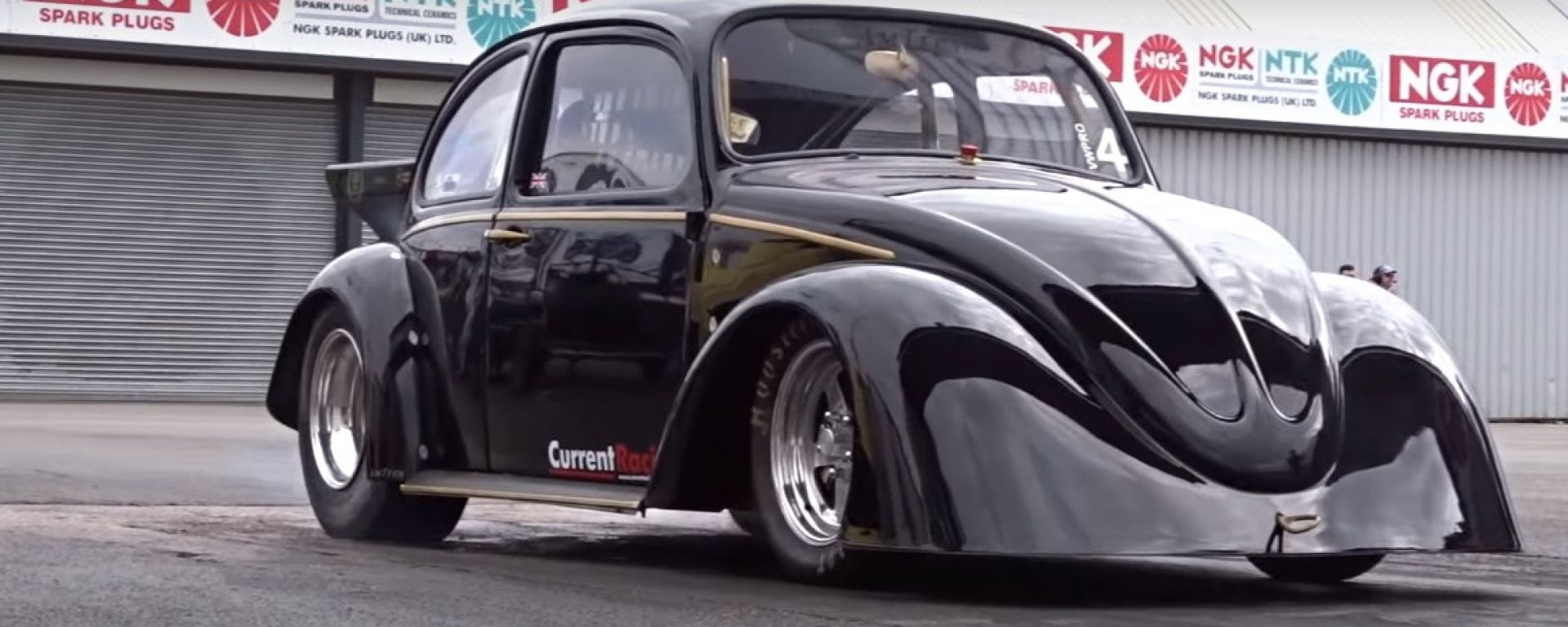 VW Beetle Drag Car: l'auto del record