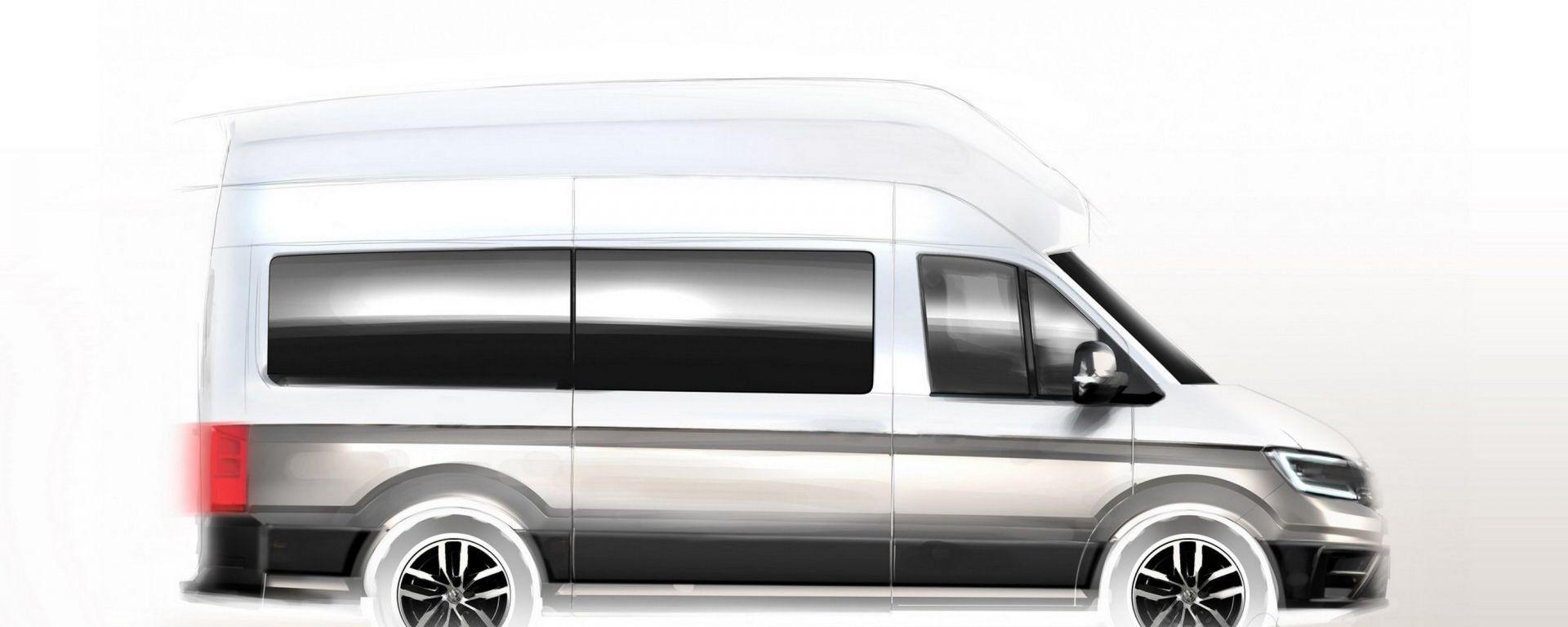 VW Camper: atteso ad agosto con letto e bagno con doccia